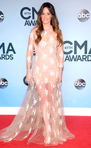 Style, Style: Red Carpet, ... | Maybe it's because the CMAs are the World Summit of Spangles, and because Musgraves has chosen to go both matte and nude. Or maybe it's…
