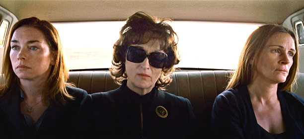 Toronto International Film Festival | August: Osage County (pictured), Tracy Letts Inside Llewyn Davis , Joel and Ethan Coen Philomena , Steve Coogan and Jeff Pope Saving Mr. Banks ,…