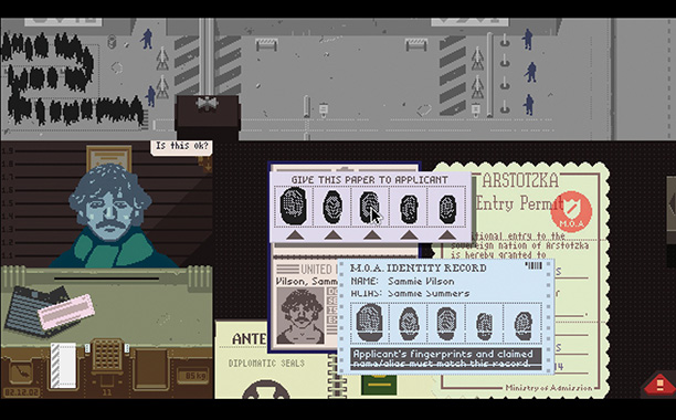 In a fictional communist country located somewhere between Soviet Russia and Kafka's brain, you play an immigration officer struggling with a mountain of paperwork. Creator…