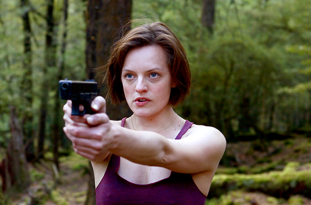 Elisabeth Moss, Top of the Lake | On the scene in the Jane Campion miniseries in which Robin sidles up to her clueless childhood rapist at a bar and then beats him…