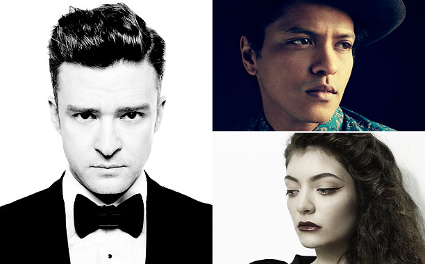 Grammy Awards, Grammy Awards 2014 | Nominees: Lana Del Rey, Paradise Lorde, Pure Heroine Bruno Mars, Unorthodox Jukebox Robin Thicke, Blurred Lines Justin Timberlake, The 20/20 Experience Who Will Win: This…