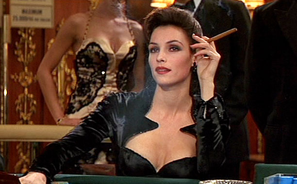 Is thigh murder an Olympic event yet? The way Goldeneye 's Xenia Onatopp (Famke Janssen) did it, it should be!