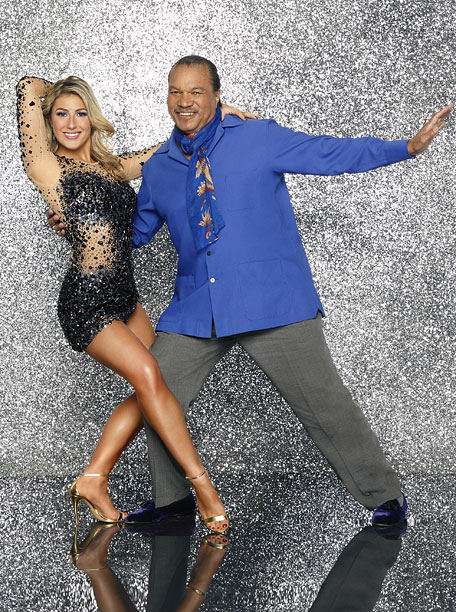 10. Emma Slater and Billy Dee Williams