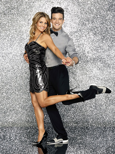 3. Candace Cameron Bure and Mark Ballas