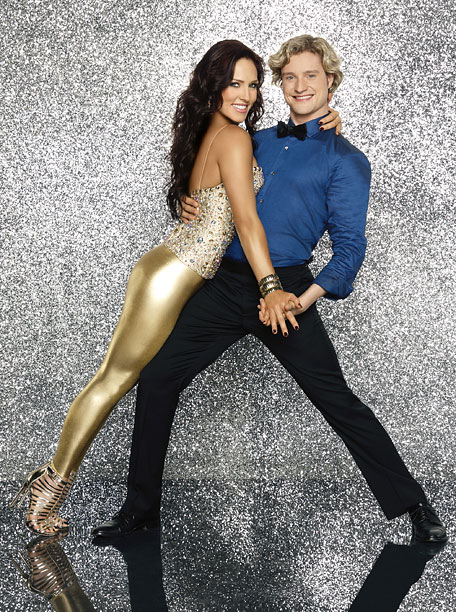 Dancing With the Stars | Sharna is always solid gold, but the ice prancer needs to work on that bravado.