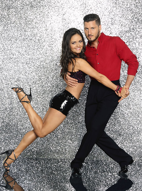 Dancing With the Stars | Winnie Cooper discovered pleather hot pants, Val looks like he has a sexy secret, and this balancing act is the most impressive by far. Three…