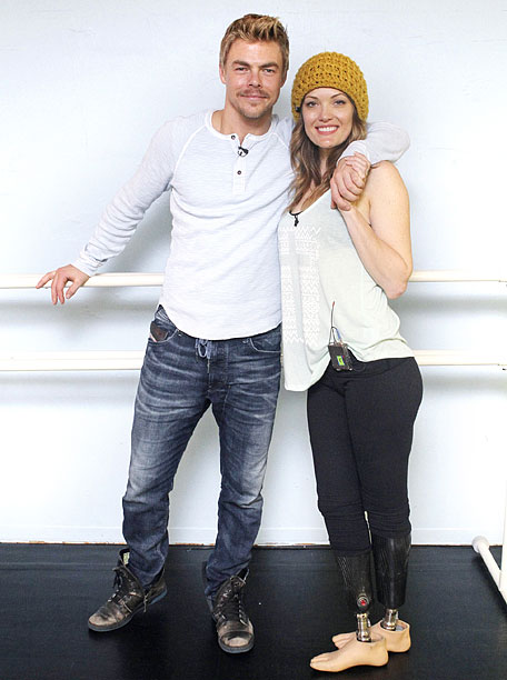 Disqualified: Derek Hough and Amy Purdy