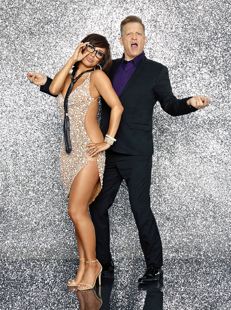 7. Cheryl Burke and Drew Carey