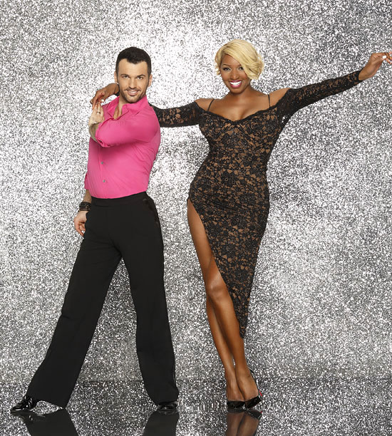 Dancing With the Stars | With a thigh slit up to there and a willingness to embrace her height, Ms. Thang's confidence sparkles next to Tony's godliness.
