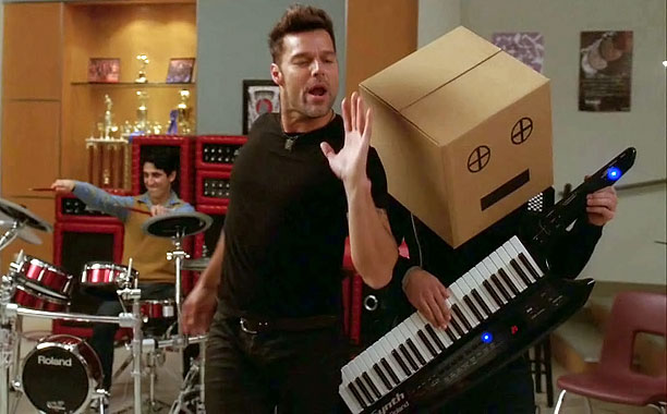 Glee | Don't get us wrong: We love a cheesy choir room number. But Ricky Martin's take on the LMFAO hit left a lot to be desired…