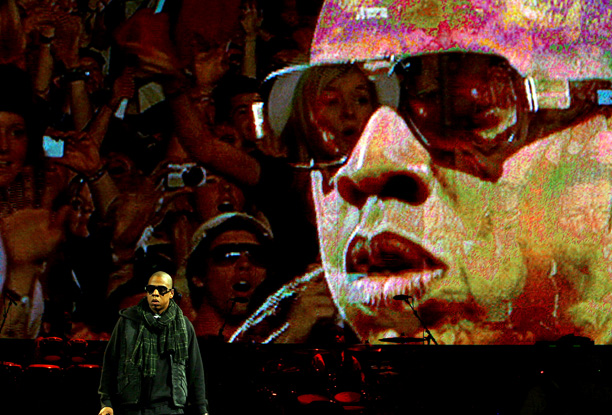 England's Glastonbury Festival had never had a rapper as a headliner before Jigga took the stage on Saturday night in 2008, and there was quite…