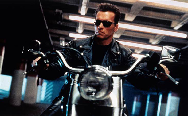 Arnold Schwarzenegger, Terminator 2: Judgment Day   2. THE TERMINATOR, MODEL T-800 FROM The Terminator (1984), Terminator 2: Judgment Day (1991), Terminator 3: Rise of the Machines (2003), Terminator Salvation (2009) PLAYED…