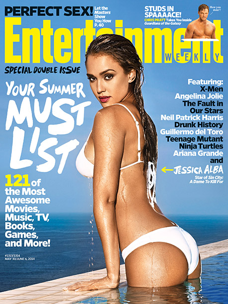 Must List Summer, EW's Must List, ... | For more on Jessica Alba and Sin City: A Dame to Kill For , pick up EW's Summer Must List on newsstands now or buy…
