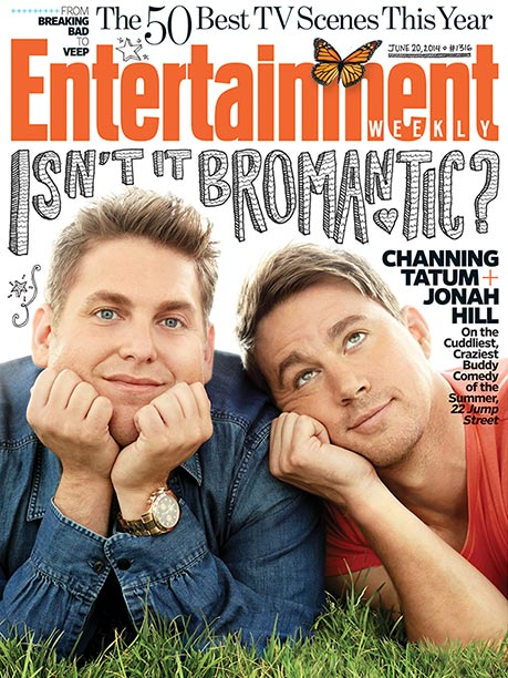 For more inside scoop on 22 Jump Street , pick up this week's EW on newsstands or buy a copy here .