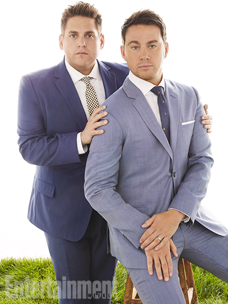 Jonah Hill, Channing Tatum, ... | Jonah Hill: ''We are a quote-unquote 'odd couple.' That dynamic is true of our relationship on-screen and off-screen. We are incredibly different, we come from…