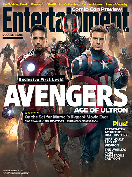 Avengers: Age of Ultron   For more of EW's exclusive First Look at the Avengers sequel, plus an extensive Comic-Con 2014 preview, pick up a copy on newsstands or buy…