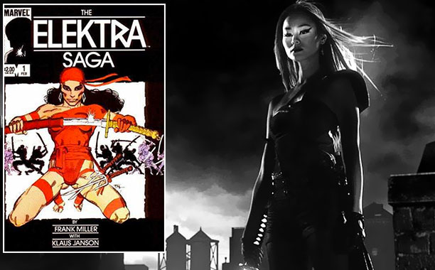 Frank Miller   Miller also likes cool ninja women with swords. Worth pointing out that, when he created Elektra, the whole ''ninja'' thing was still relatively new to…