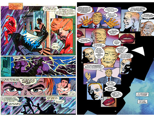 Frank Miller   The second thing to remember about Frank Miller is that much of his finest work as an artist stands at the nexus point between sequential-art…