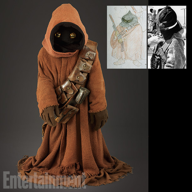 Star Wars   The most striking aspect of the Jawas is their shrouded faces. Covering the faces of the actors—who were mostly children of the production staff—with a…