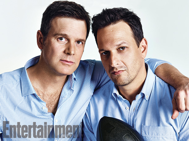 Peter Krause and Josh Charles, Sports Night