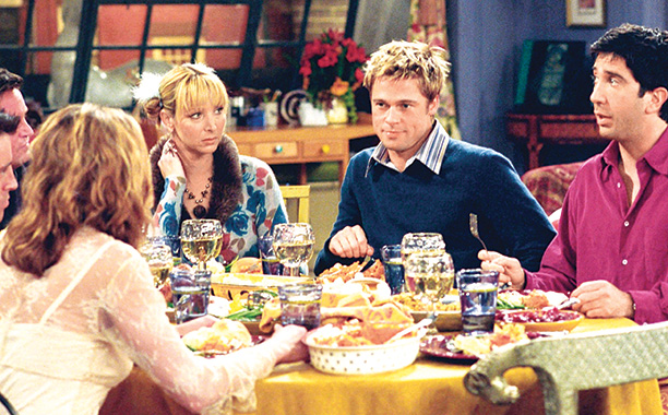 Friends   ''The One With the Rumor'' (Season 8) Jennifer Aniston's then husband starred in a Thanksgiving episode, playing a very different role: a founder member of…