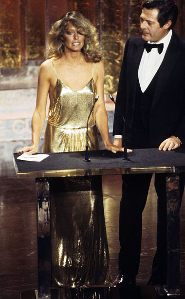 Style | In 1978, Fawcett brought Studio 54 glam to the Oscars, dressed to boogie in a slinky, oh-so-glam gold open-back Stephen Burrows gown. Aspiring actresses take…