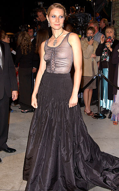 Style | Paltrow may be Hollywood royalty but at the 2002 Academy Awards, the actress went for a goth look by Alexander McQueen that failed to reign…