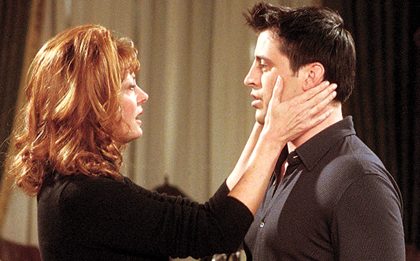 Friends   ''The One With Joey's New Brain'' (Season 7) Sarandon played a soap diva (think Susan Lucci) who struck up a romance with Joey after he…