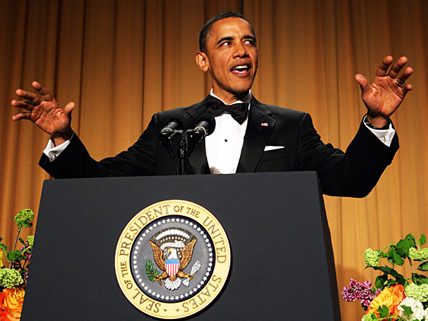 Barack Obama   On second thought, why bother inviting a comedian when the President himself may be the funniest man in the room? Like Bush and Clinton before…