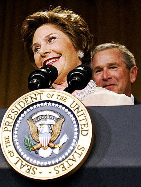 Laura Bush, George W. Bush   The First Lady upstaged Cedric the Entertainer — and her own husband — with this surprisingly edgy routine, which revealed what it's really like to…