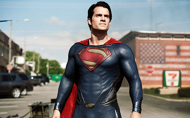 Henry Cavill, Man of Steel | I'm not talking about the abandonment of the red undies. In Zack Snyder's Man of Steel , the blue and the red in Superman's costume…