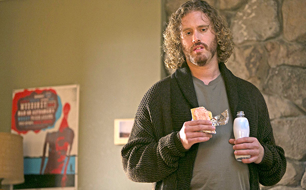 T.J. Miller's character Erlich is the most absurd character in Silicon Valley , except when he's the most sincere. He's the most inept, except when…