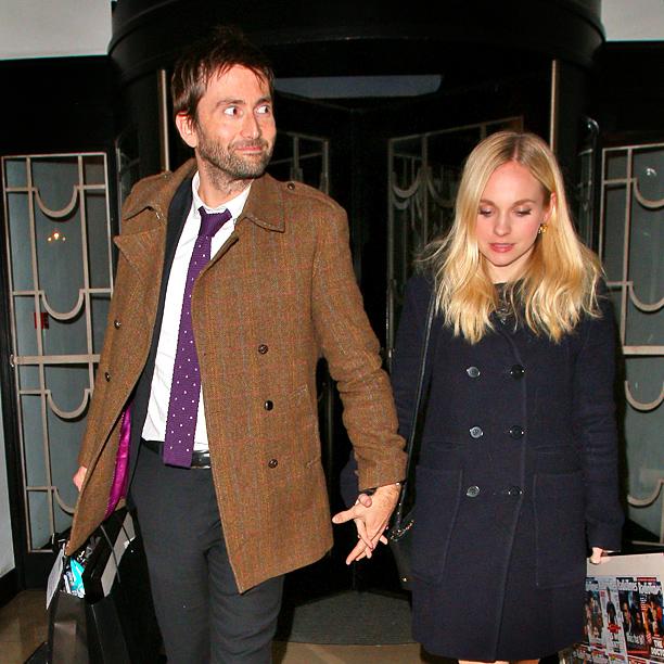 David Tennant and Georgia Moffett (Doctor Who)