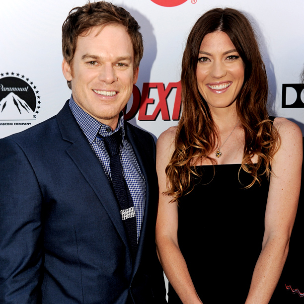 Michael C. Hall and Jennifer Carpenter (Dexter)