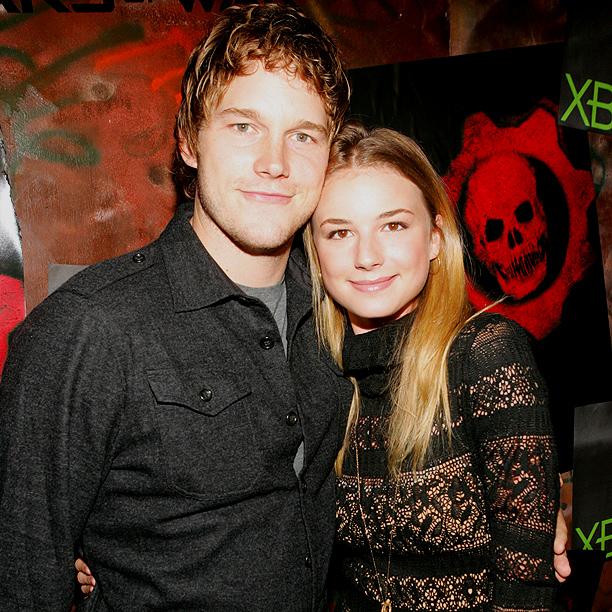 Chris Pratt and Emily VanCamp (Everwood)