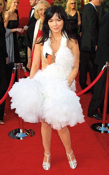 Björk in Marjan Pejoski, 2001 Academy Awards