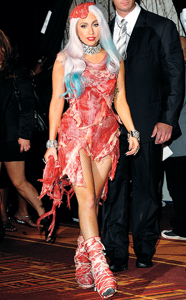 Lady Gaga in Franc Fernandez, 2010 MTV VMAs