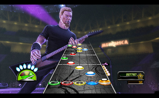 5. Guitar Hero: Metallica