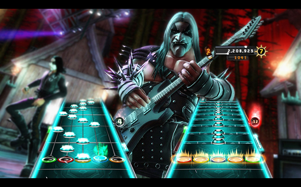 8. Guitar Hero: Warriors of Rock