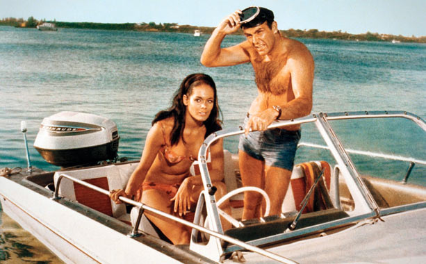 Box Office: $63.6 million/$141.2 million Director: Terence Young Theme Song Performed By: Tom Jones Fun Fact: Connery's life was really in jeopardy during Bond's shark-tank…