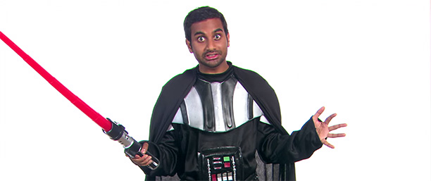 Aziz Ansari as Darth Vader