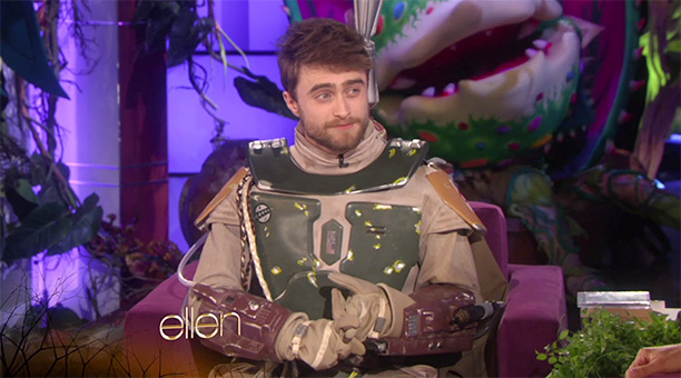 Daniel Radcliffe as Boba Fett