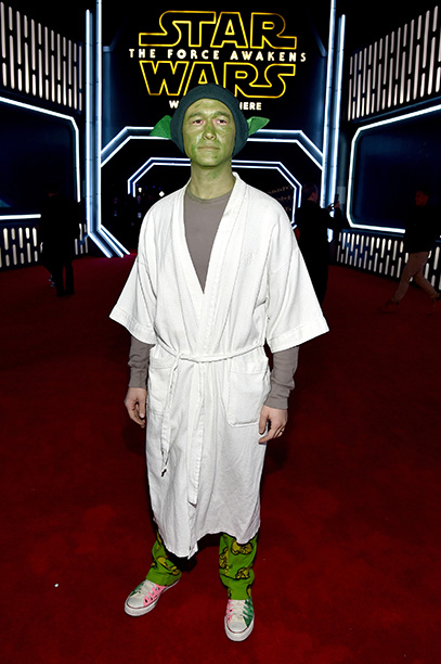 Joseph Gordon-Levitt as Yoda