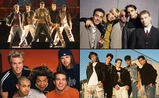 The best boy bands of the '90s and '00s | EW com