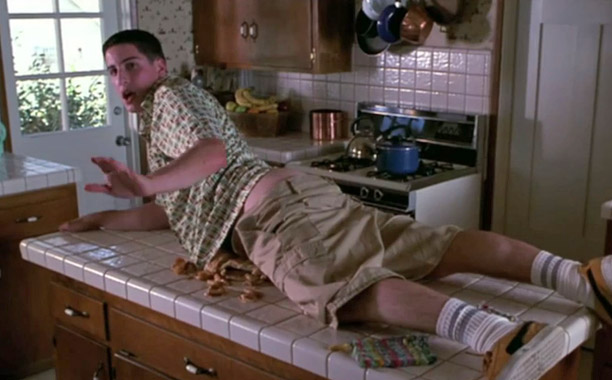 Meant to be sexy? No Aphrodisi-ack! You never forget your first?or at least we'll never forget Jim Levenstein's (Biggs) considering the mangled mess he left…