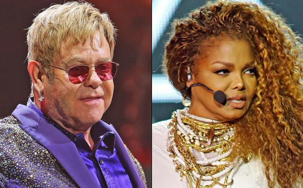 GALLERY: Music Feuds of 2016: ALL CROPS: 501957570 Elton John / 489418774 Janet Jackson