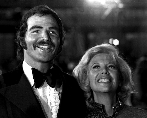 March 26, 1973 With Dinah Shore at the Academy Awards