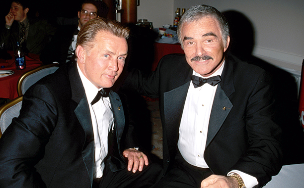 February 14, 2000 With Martin Sheen at the ESPY Awards