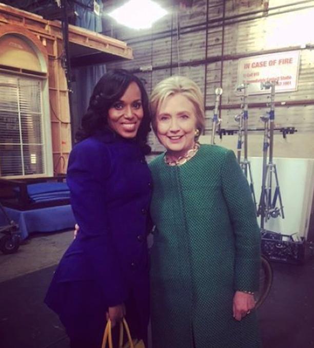 Kerry Washington for Hillary Clinton