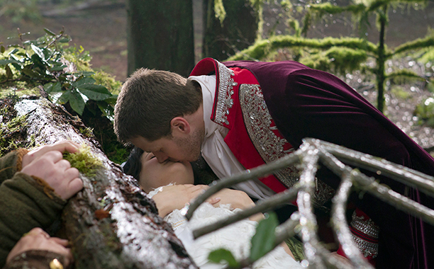 Josh Dallas on the famous kiss